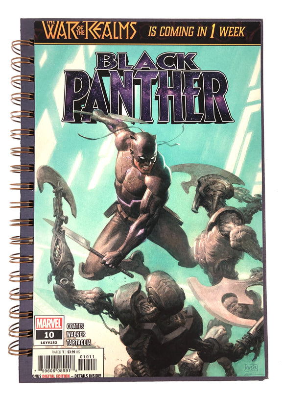 Black Panther #10 Comic Journal-Red Barn Collections