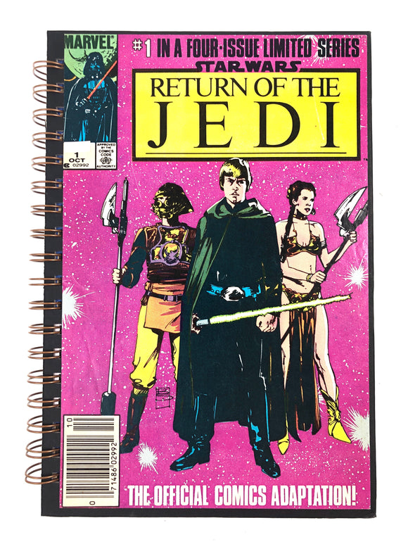 Star Wars: Return of the Jedi Part 1 of 4 Comic Journal-Red Barn Collections