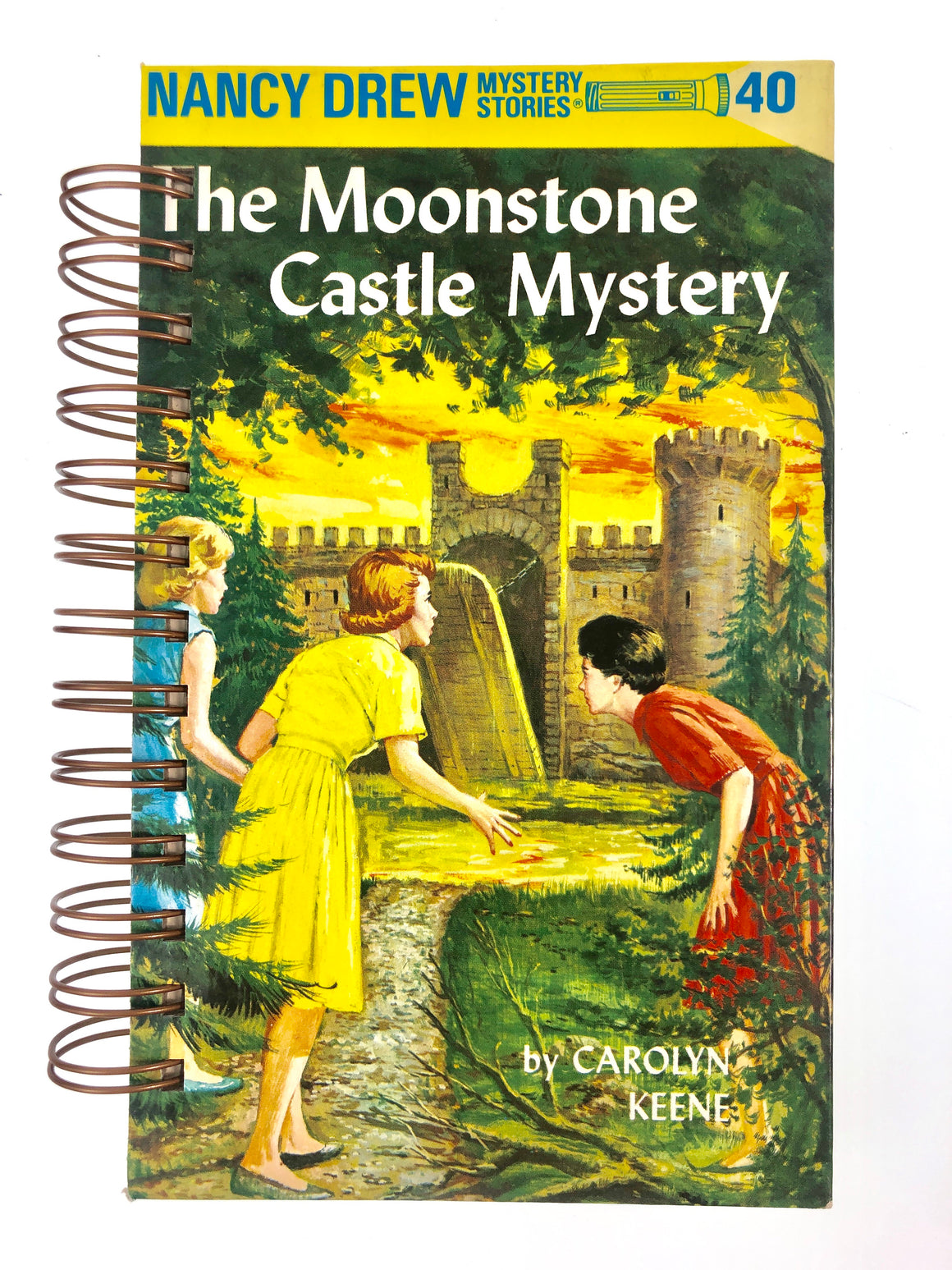 Nancy Drew #40 - The Moonstone Castle Mystery-Red Barn Collections