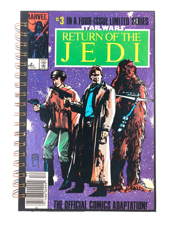 Star Wars: Return of the Jedi Part 3 of 4 Comic Journal-Red Barn Collections