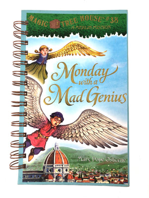 Magic Tree House #30 Monday with a Mad Genius-Red Barn Collections
