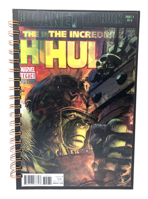 The Incredible Hulk: Return to Planet Hulk Part 1 Comic Journal-Red Barn Collections