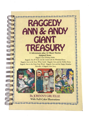 Raggedy Ann and Andy Giant Treasury Journal-Red Barn Collections
