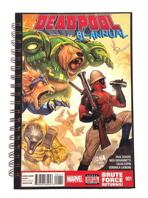 Deadpool Bi-Annual Comic Journal-Red Barn Collections