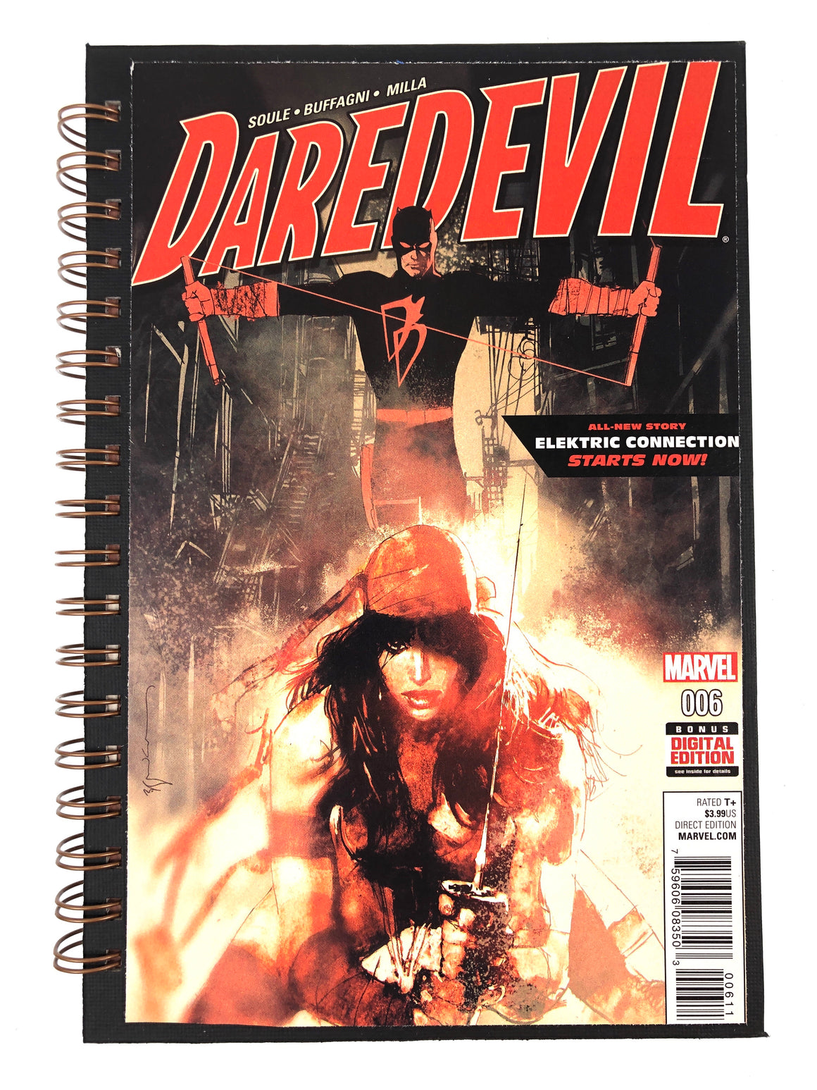 Daredevil 006 Comic Journal-Red Barn Collections