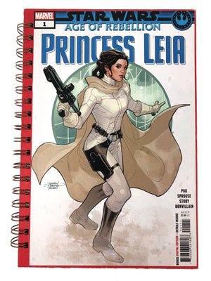 Star Wars: Age of Rebellion, Princess Leia Comic Journal-Red Barn Collections