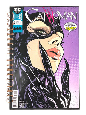 CatWoman 7 Comic Journal-Red Barn Collections