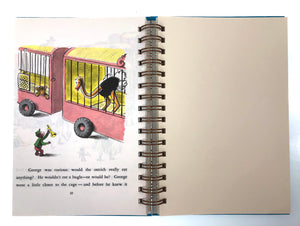 Curious George: rides a bike Journal (1952)-Red Barn Collections