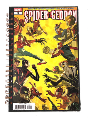 Spider Geddon Comic Journal-Red Barn Collections