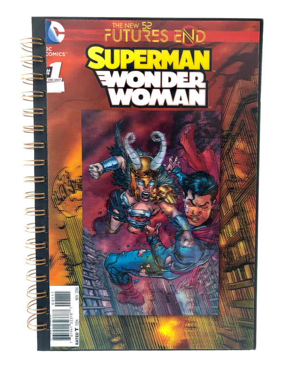 Superman Wonder Woman Comic Journal-Red Barn Collections