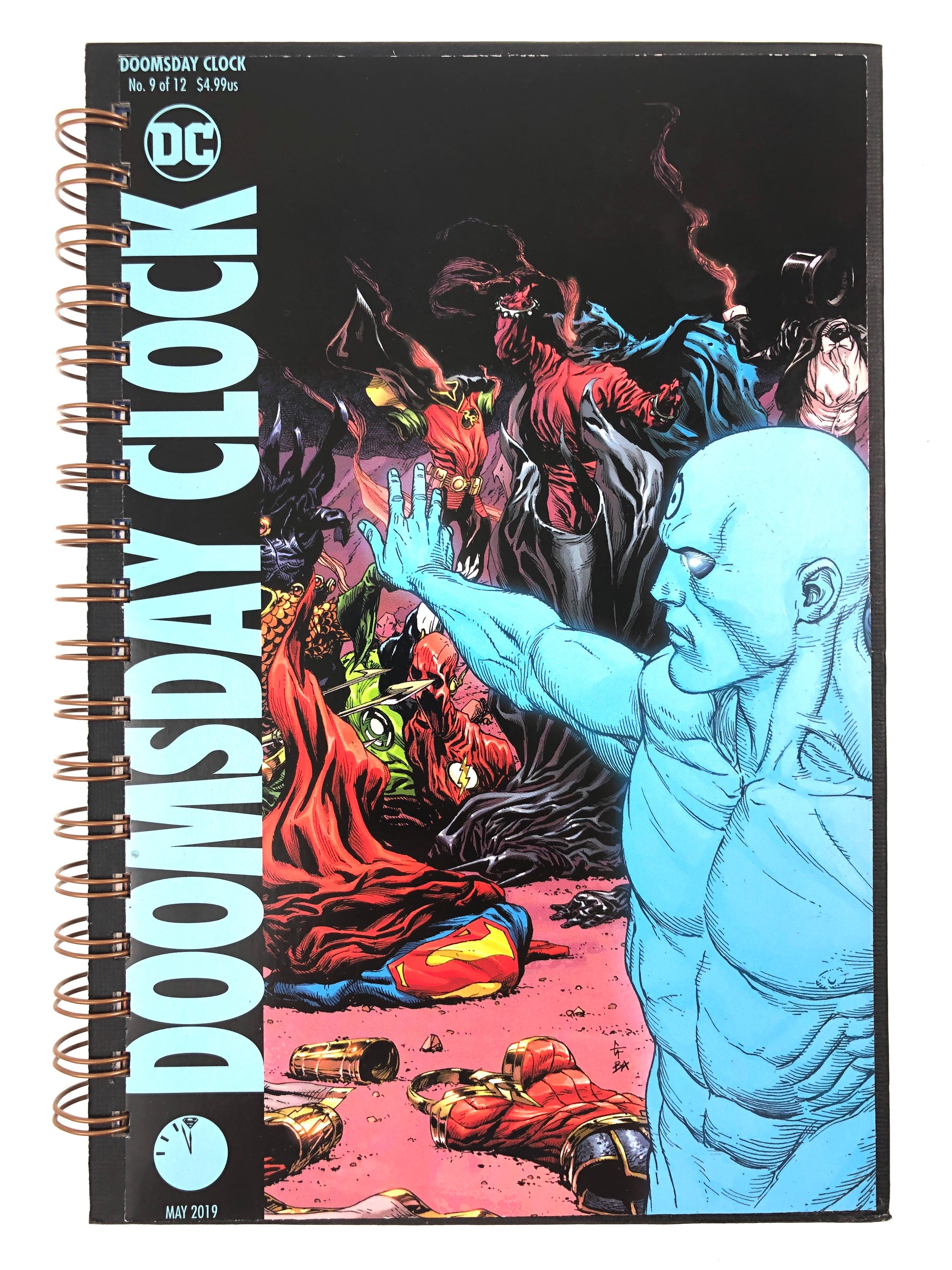 Doomsday Clock Comic Journal Red Barn Collections