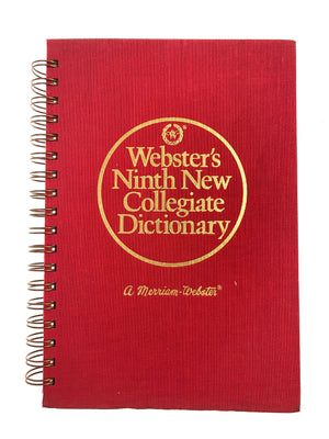 Webster's Collegiate Dictionary-Red Barn Collections