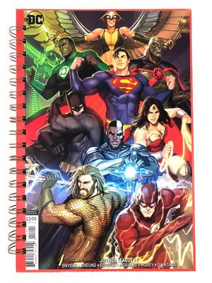 Justice League 14 Comic Journal-Red Barn Collections