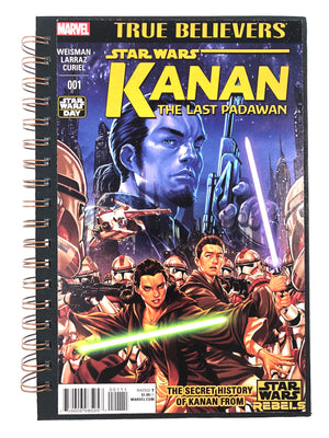 Star Wars: Kanan The Last Padawan Comic Journal-Red Barn Collections