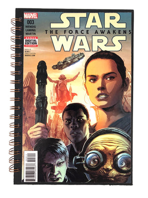 Star Wars: The Force Awakens Comic Journal-Red Barn Collections