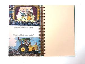 Maybe you should fly a jet! Maybe you should be a vet! Journal-Red Barn Collections