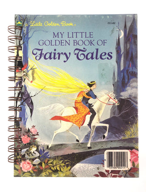 My Little Golden Book of Fairy Tales (blue book)-Red Barn Collections