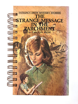 Nancy Drew #54 - The Strange Message in the Parchment-Red Barn Collections