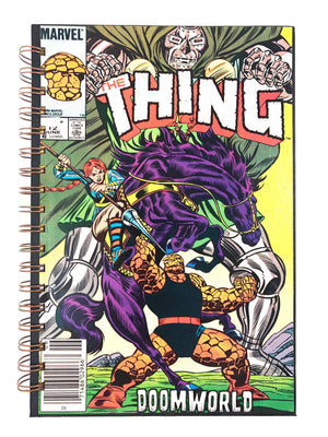The Thing Doomworld Comic Journal-Red Barn Collections