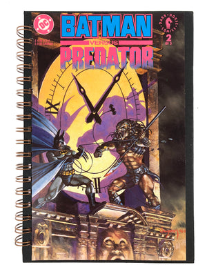 Batman Versus Predator Comic Journal-Red Barn Collections