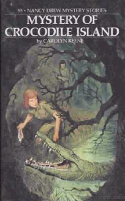 Nancy Drew Mystery Stories #55 - Mystery of Crocodile Island-Red Barn Collections