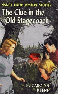 Nancy Drew #37 - The Clue in the Old Stagecoach-Red Barn Collections