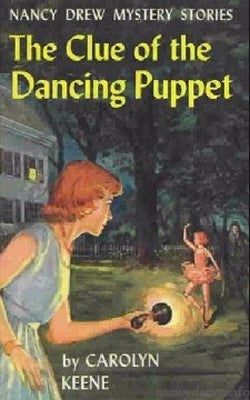 Nancy Drew #39 - The Clue of the Dancing Puppet (vintage)-Red Barn Collections