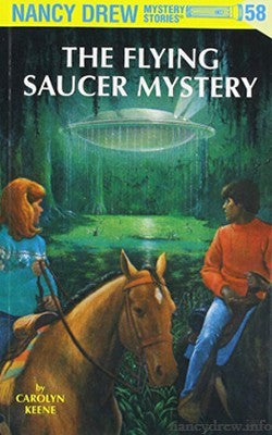 Nancy Drew #58 - The Flying Saucer Mystery-Red Barn Collections