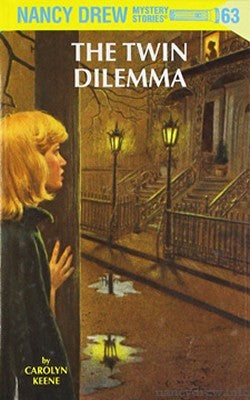 Nancy Drew #63 - The Twin Dilemma-Red Barn Collections