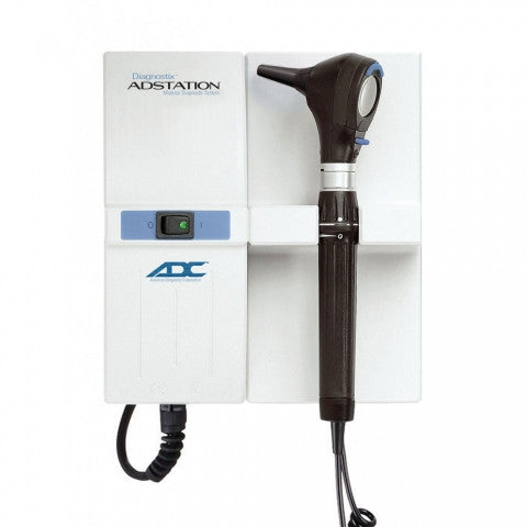 ADC Adstation™ 5611 3.5v Wall Otoscope, Coax Ophthalmoscope, 5611X