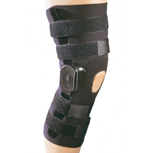 "DJO ProCare ACTION™ Neoprene Brace/Sleeve - 1/8"", 13"" Length, Black, X-Large, 79-94298"