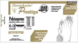 Innovative Dermassist™ Prestige® Powder-Free Latex Surgical Gloves, 139700
