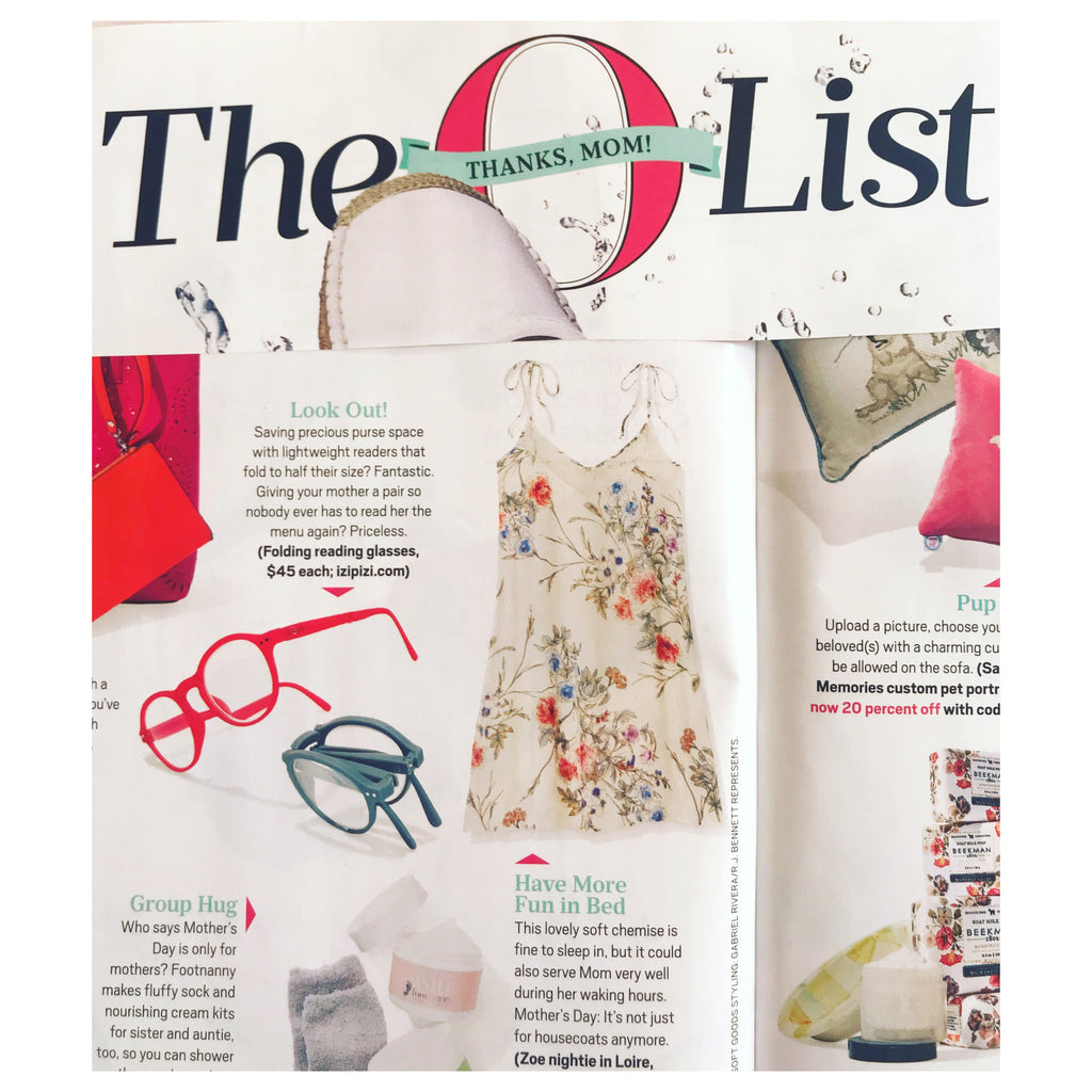 Oprah Magazine - The O List - May 2018