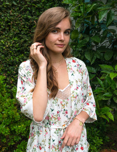CARA Robe in French Floral