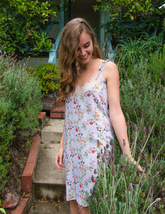 ZOE in Lavender French Floral