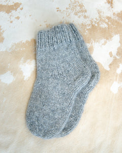 SLIPPER SOCKS in Baby Alpaca