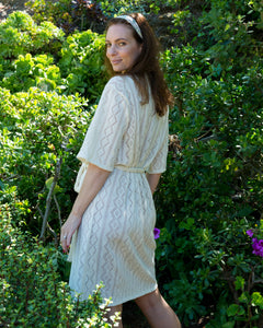 CARA Robe in Knit Cotton