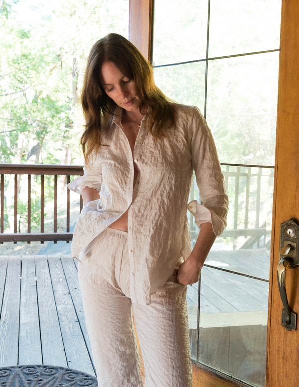 PHOEBE Shirt in Sandy Fawn