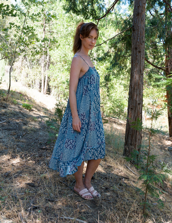 IRIS Dress in Little Blue
