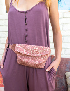PEPPER Hip Bag in Pink