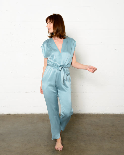 Syrah Jumpsuit in Moroccan Teal