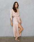 WILLOW Long Silk Robe