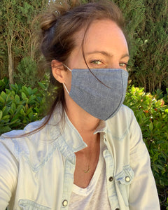 Chambray Cotton Mask