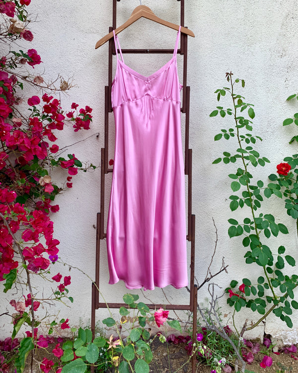 CAROLE Slip in Rose Pink - Size S & M