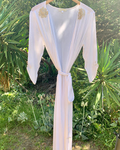 WILLOW Robe in Silk - Size S