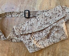 PEPPER Bum Bag in Tan Splash