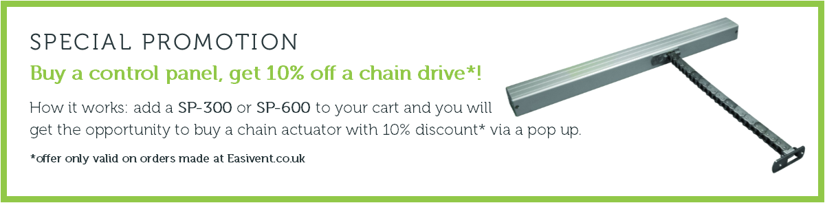 Special Promotion - Control Panel/Chain Drive