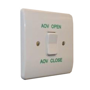 Retractive Switch with green text