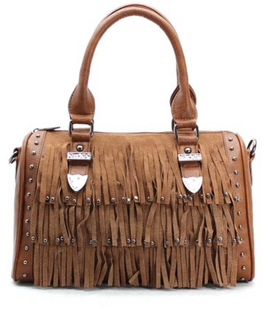 Frayed Country Purse