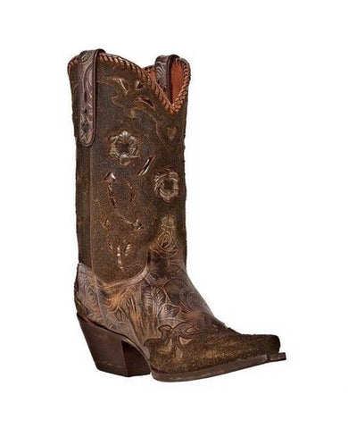 Dan Post Penny Bronze Floral Boot